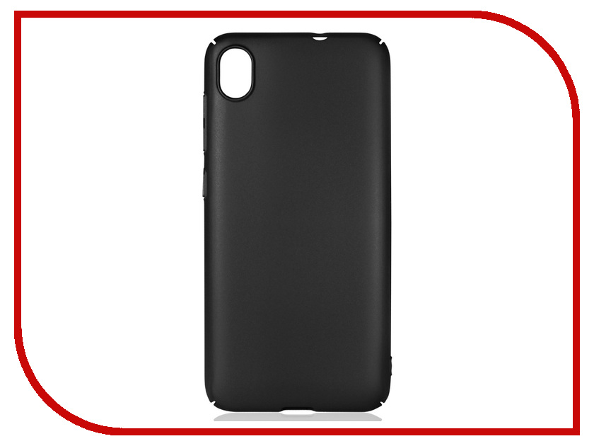 Аксессуар Чехол для Asus Zenfone Live L1 ZA550KL DF Soft-Touch aSlim-21 Black