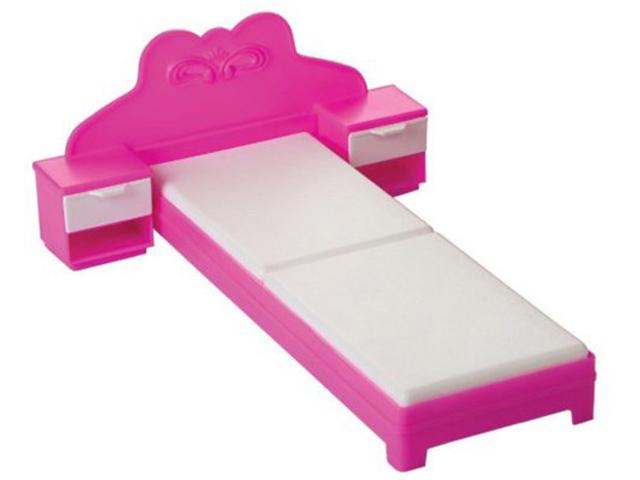 Кроватка для куклы Огонек Зефир С-1468