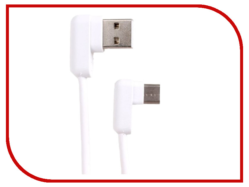 Аксессуар USAMS U-flow Series US-SJ167 USB - Type-C 1.2m White