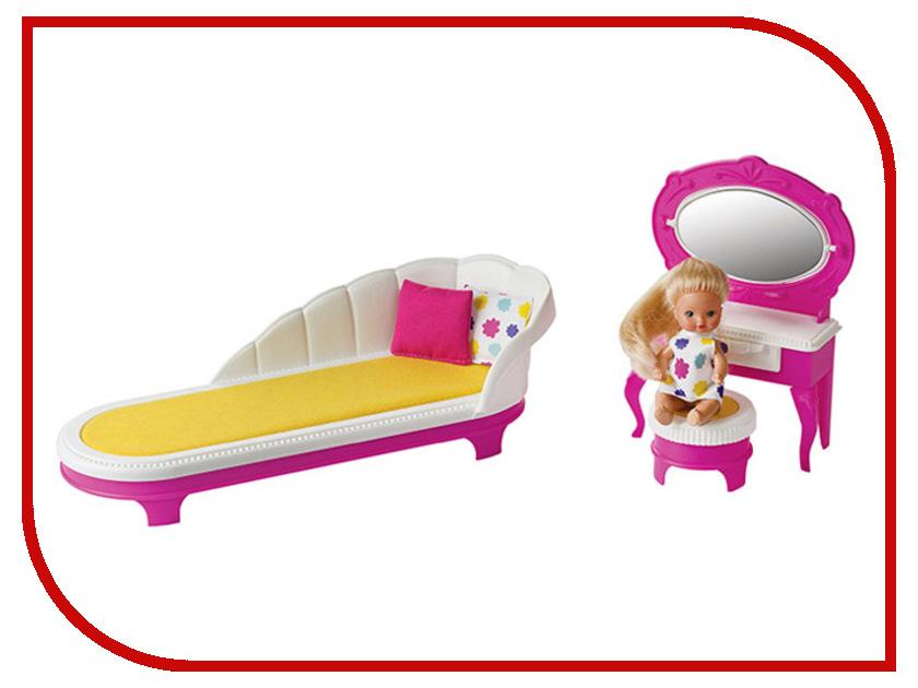 Набор кукольной мебели Огонек Зефир Будуар С-1414 цена