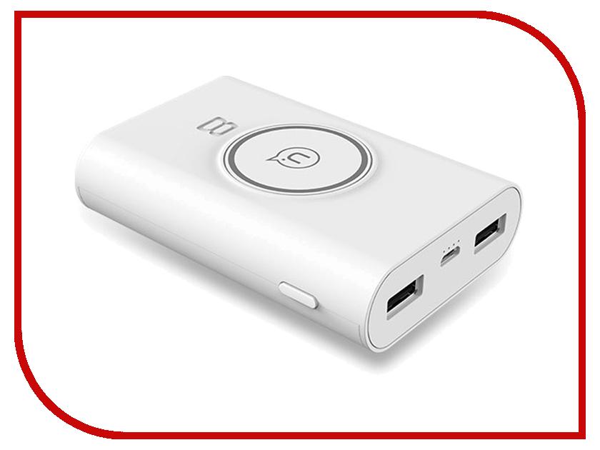 Аккумулятор USAMS Wish Series US-CD31 8000mAh White bubble wish white