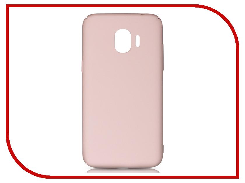 цена на Аксессуар Чехол для Samsung Galaxy J2 2018 / J2 Pro 2018 DF Soft-Touch sSlim-34 Pink Sand