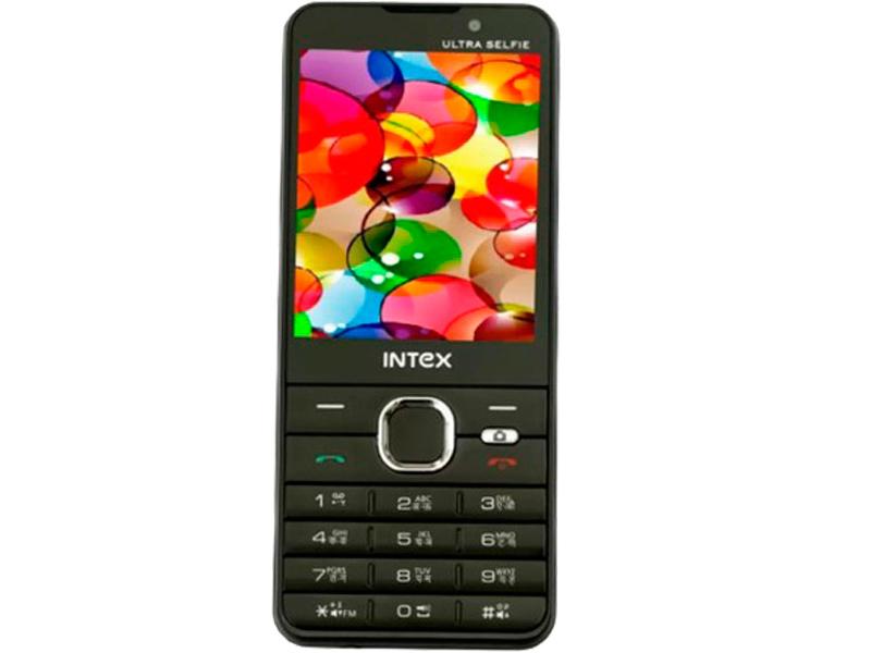 Сотовый телефон Intex Ultra Selfie Black сотовый телефон senseit t100 black