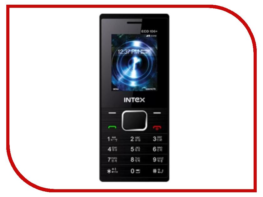 Сотовый телефон Intex Eco 106+ Blue сотовый телефон senseit t100 black