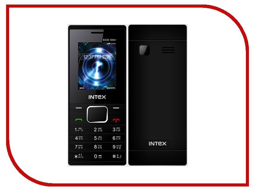 Сотовый телефон Intex Eco 106+ Black