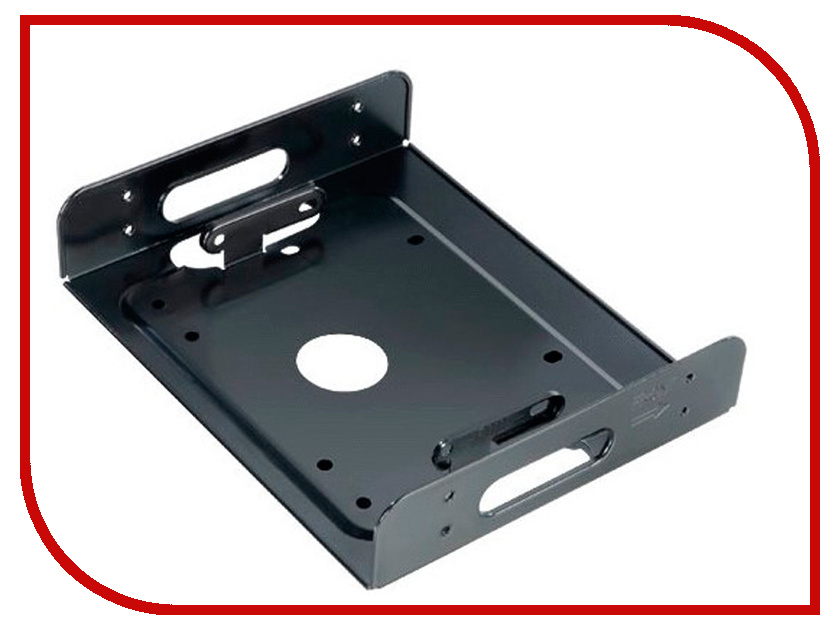 Аксессуар Адаптер SSD/HDD 2.5/3.5 - 5.25 Akasa AK-HDA-01 аксессуар кабель akasa led strip light 20cm ak cbld01 20bk