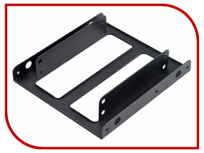 Аксессуар Адаптер SDD/HDD 2.5 - 3.5 Akasa AK-HDA-03 akasa ak fn057 apache 120mm 4 pin pwm 9 blade cooling heatsink fan for computer army green