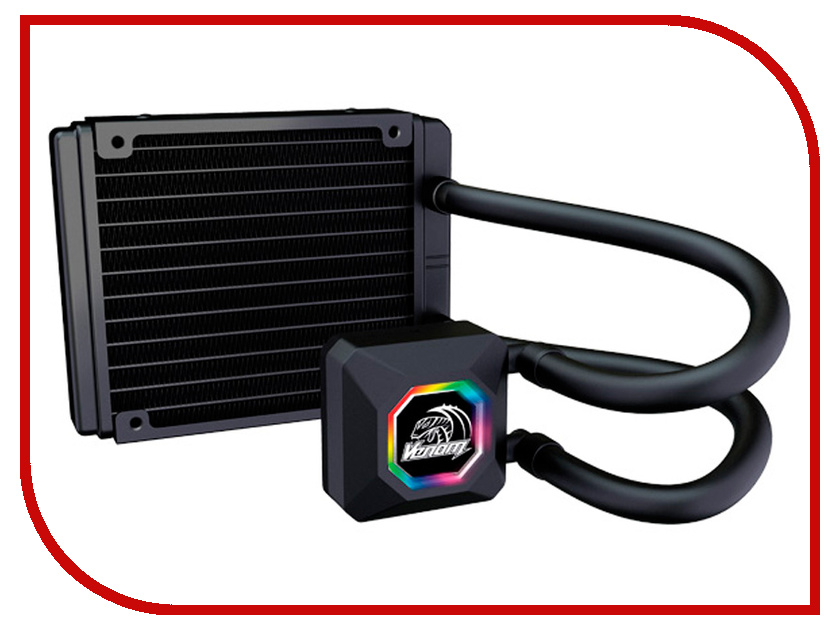 Водяное охлаждение Akasa Venom R10 AK-LC4001HS03 (Intel LGA775/115x/1366/2011/2066/ AMD AM2-AM3+/FM1.FM2) noctua nh d15 amd intel processor coolers fans cooling fan contain thermal compound cooler fans lga 1366 2011 2066 am3 fm2 115x