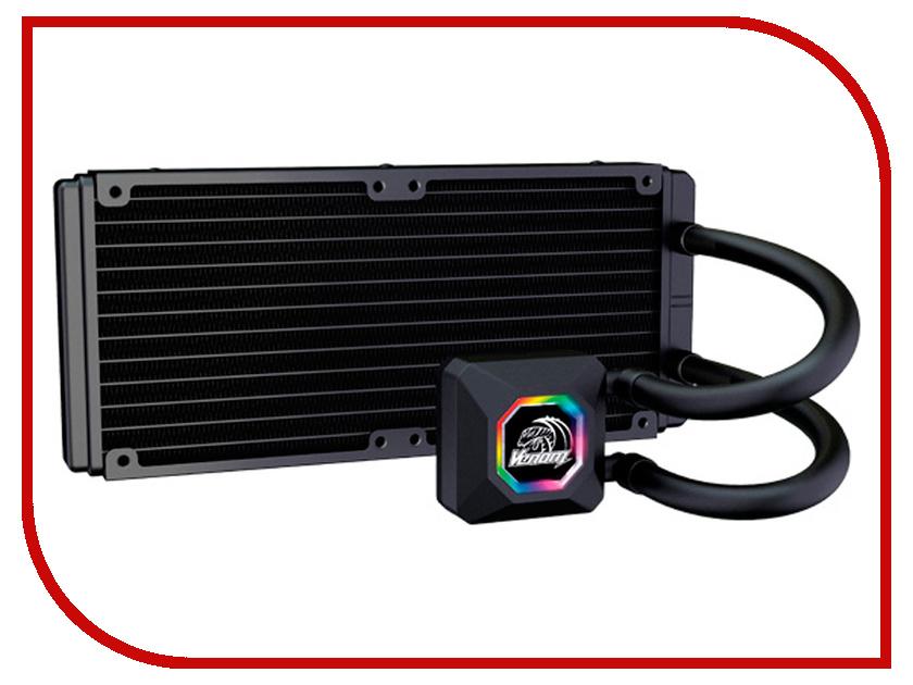 Водяное охлаждение Akasa Venom R20 AK-LC4002HS03 (Intel LGA775/115x/1366/2011/2066/ AMD AM2-AM3+/FM1.FM2)