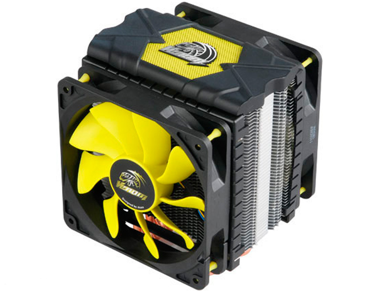 Кулер Akasa Venom Voodoo V2 AK-CC4008HP01V2 (Intel LGA775/115x/1366/2011/2066/ AMD AM2-AM4/FM1.FM2) r d mckown voodoo child