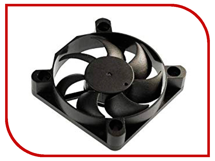 Вентилятор Akasa 50x10mm Black AK-5010MS akasa ak fn057 apache 120mm 4 pin pwm 9 blade cooling heatsink fan for computer army green