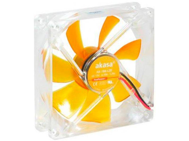 все цены на Вентилятор Akasa 90mm Amber AK-184-L2B онлайн