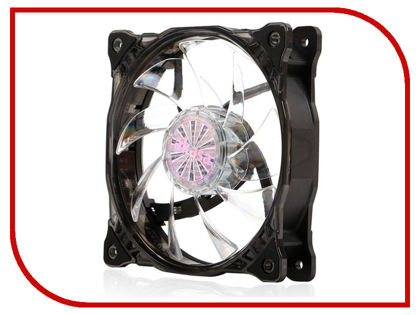 Вентилятор Akasa Vegas 7 120mm LED AK-FN092 akasa ak fn072 piranha 120mm 4 pin pwm 7 blade cooling fan for computer black