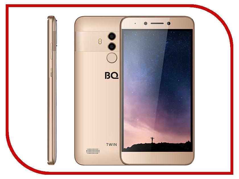 Сотовый телефон BQ 5516L Twin Gold bobarry 10 inch m109 3g tablet pc android tablet pcs phone call octa core 4gb ram 32gb rom dual sim gps ips fm bluetooth tablet
