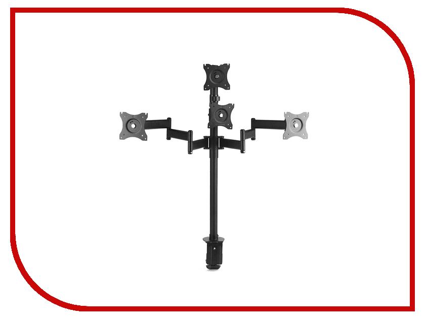 Кронштейн Arm Media LCD-T16 (до 40кг) Black 2 5x 5x 16x desktop multi functional welding led magnifier table lamp loupe soldering repair magnifying tool with led light