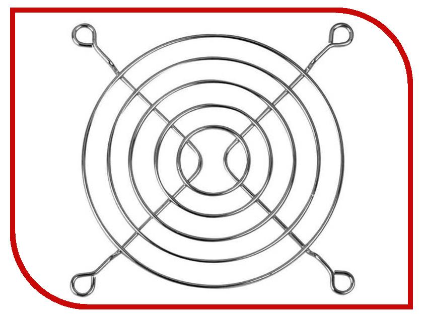 Защитная решетка для вентилятора Akasa 80mm MG-08 Chrome защитная решетка для вентилятора arctic fan grill 92mm acfan00086a