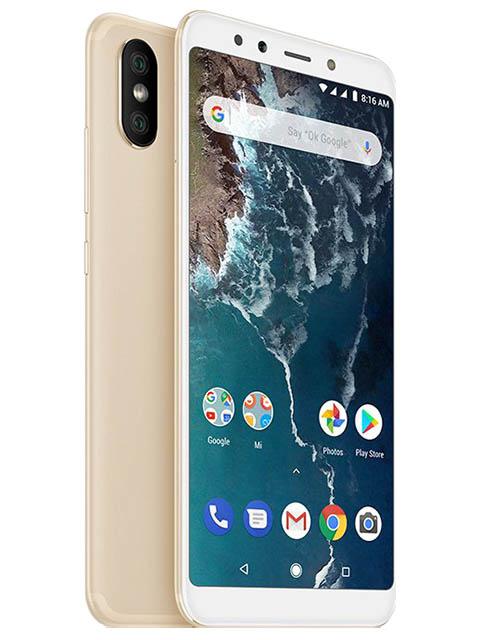 Сотовый телефон Xiaomi Mi A2 4/64GB Gold сотовый телефон xiaomi mi a2 4 64gb blue