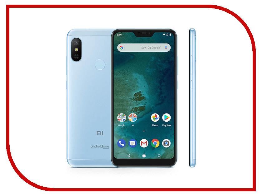 цена на Сотовый телефон Xiaomi Mi A2 Lite 3/32GB Blue