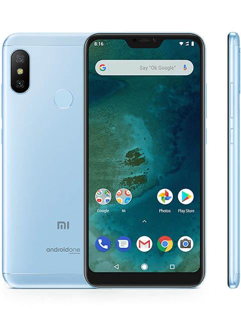 Сотовый телефон Xiaomi Mi A2 Lite 3/32GB Blue сотовый телефон xiaomi mi a2 4 64gb blue