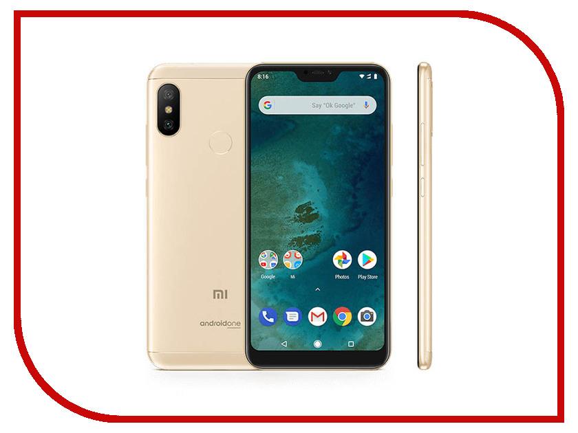 Сотовый телефон Xiaomi Mi A2 Lite 3/32GB Gold сотовый телефон xiaomi mi note 3 64gb black