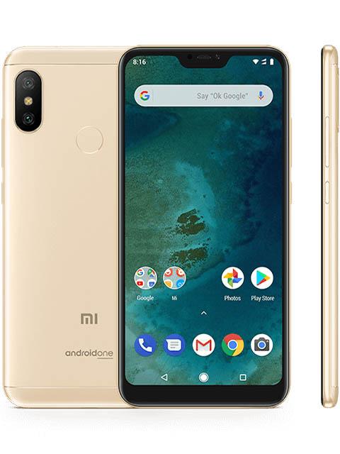 Сотовый телефон Xiaomi Mi A2 Lite 3/32GB Gold сотовый телефон xiaomi mi a2 4 64gb blue