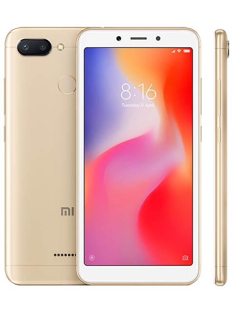 Сотовый телефон Xiaomi Redmi 6 3/32GB Gold сотовый телефон motorola moto z 32gb white gold
