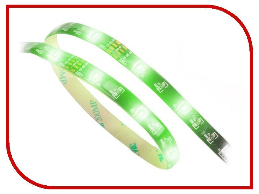 Светодиодная лента Akasa Vegas LED Green 50cm AK-LD02-05GN фонарь fenix ld02 xp e2 ld02