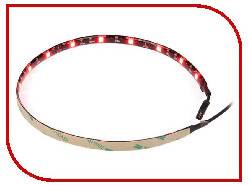 Светодиодная лента Akasa Vegas LED Red 50cm AK-LD02-05RD wine red 50cm long culy hair cosplay party wig