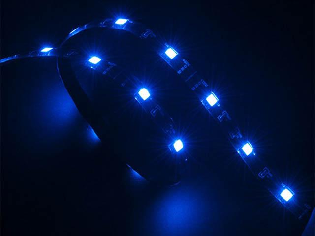 цена на Светодиодная лента Akasa Vegas Magnetic LED Blue 50cm AK-LD05-50BL