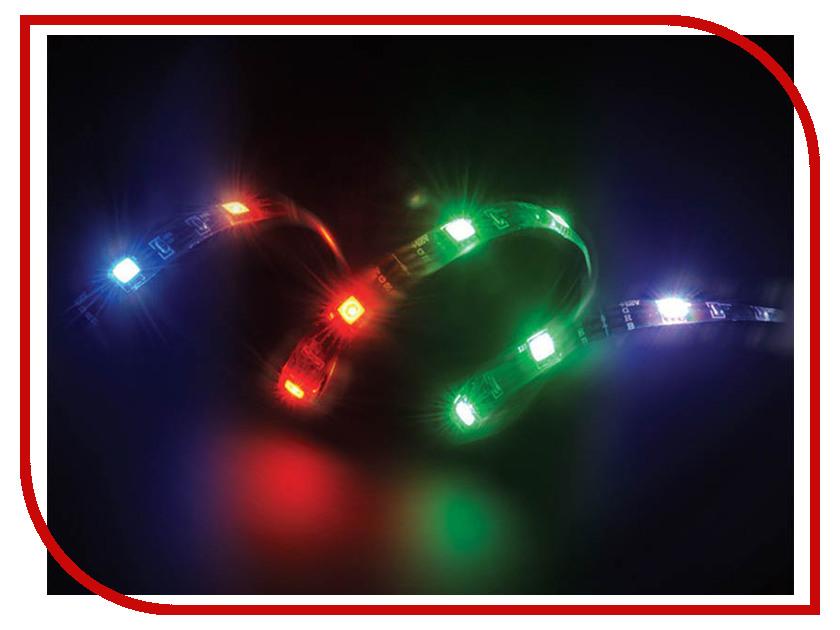 Светодиодная лента Akasa Vegas Magnetic LED 50cm RGB AK-LD05-50RB вентилятор akasa vegas r7 rgb led 120mm ak fn098