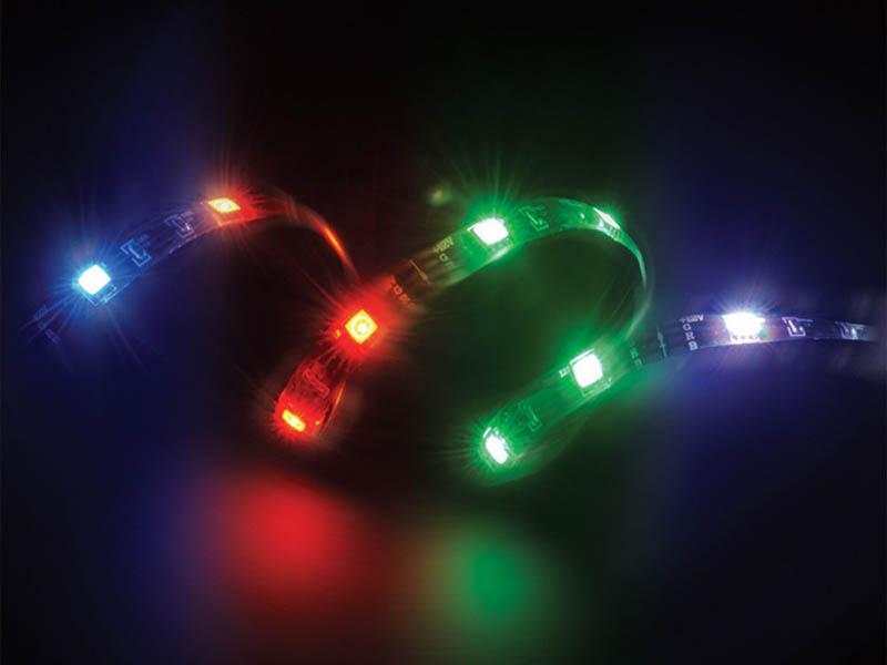 цена на Светодиодная лента Akasa Vegas Magnetic LED 50cm RGB AK-LD05-50RB