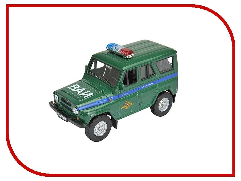 Игрушка Welly УАЗ 31514 Военная Автоиснпекция 42380MC
