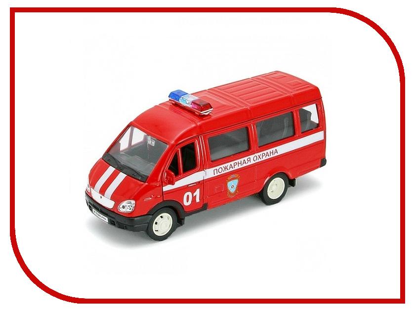 Игрушка Welly ГАЗель Пожарная Охрана 42387AFS игрушка play smart газель 3221 пожарная р40526