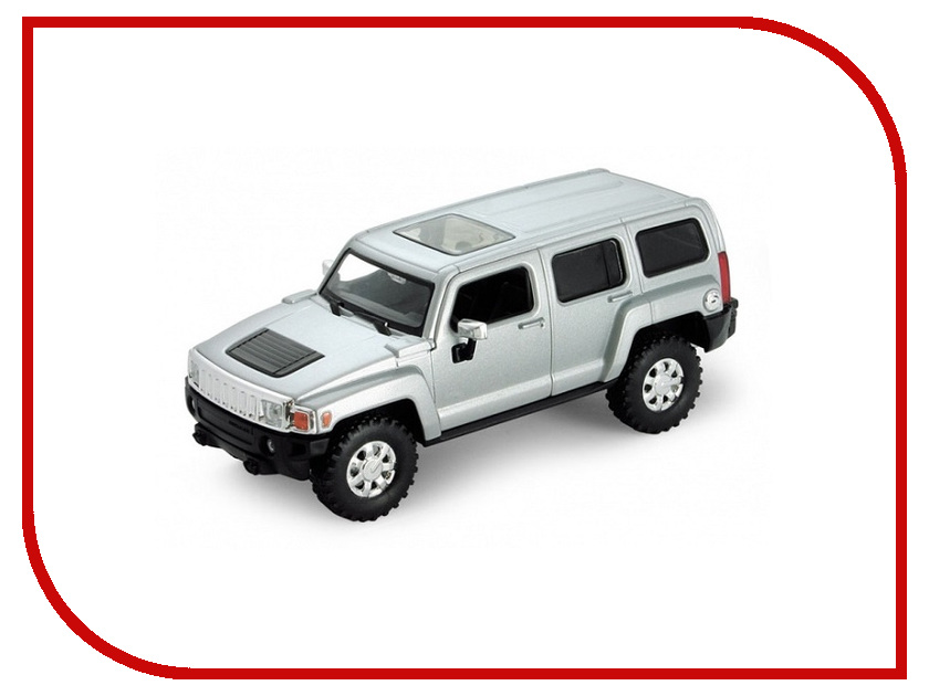 Игрушка Welly Hummer H3 39887 машина welly hummer h3 43629