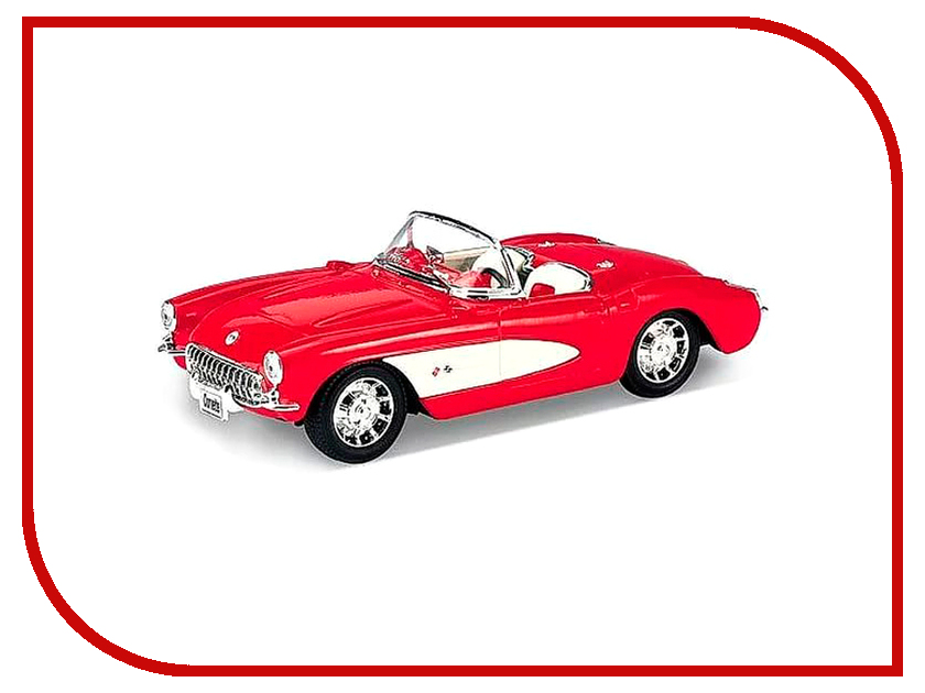 Игрушка Welly Chevrolet Corvette 1957 42360