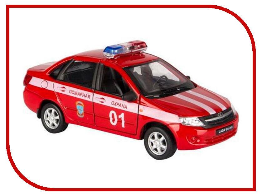 Игрушка Welly LADA Granta Пожарная Охрана 43657FS welly модель автомобиля lada vesta пожарная охрана