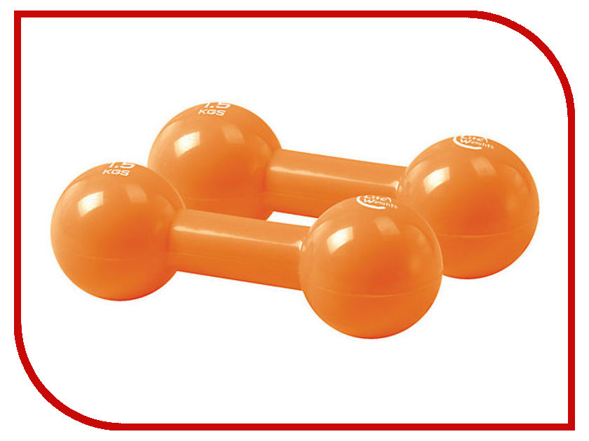 Z-Sports 3968EG 2x1.5kg Orange sports