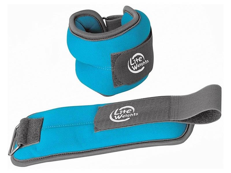 цена на Утяжелитель Lite Weights 5869WC 2x1kg Light Blue