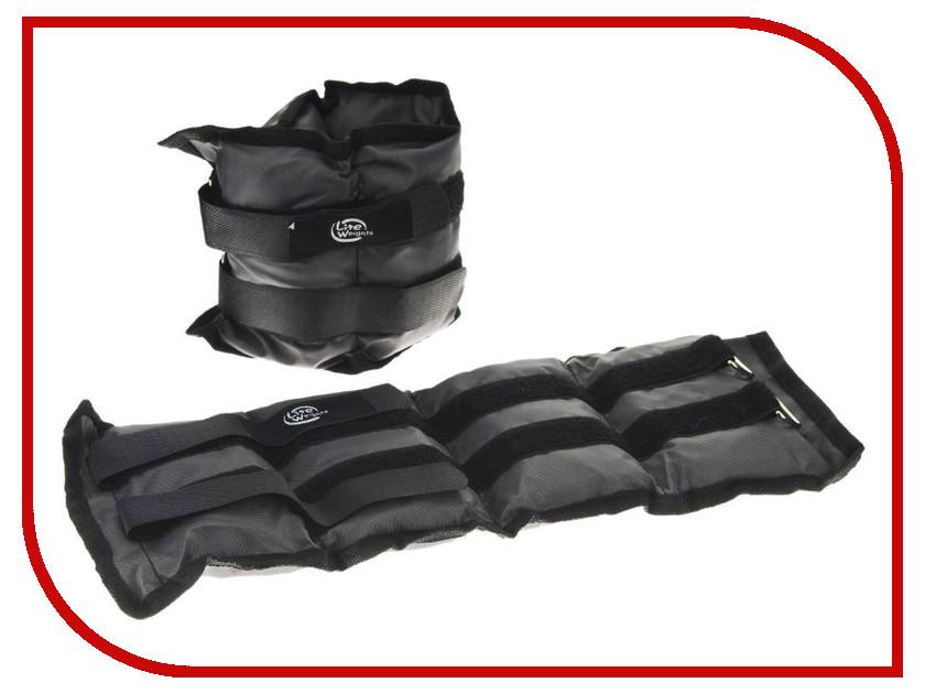 Утяжелитель Lite Weights 5863WC 2x1.5kg Grey гантель неопреновая lite weights цвет серый 3 кг