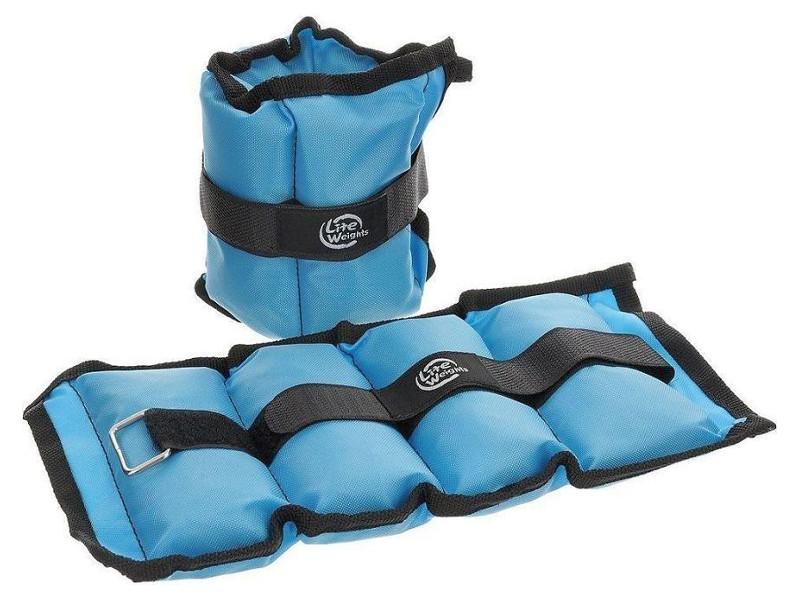 Утяжелитель Lite Weights 5862WC 2x1kg Light Blue