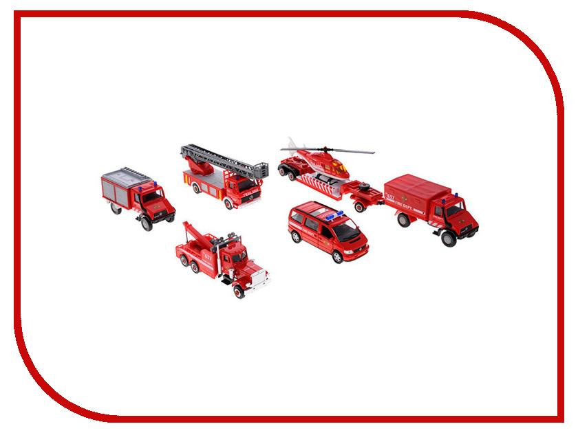 Игрушка Welly Пожарная служба (99610-6B)