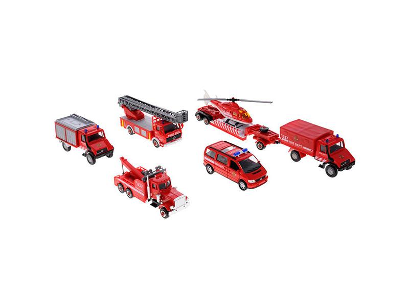 Игрушка Welly Пожарная служба (99610-6B) стоимость