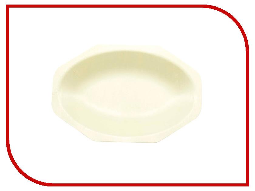 Одноразовые тарелки Ecovilka 100шт YD-T05 F1 аксессуар чехол innovation silicone case для apple iphone 5g 5s 5se lilac 10614