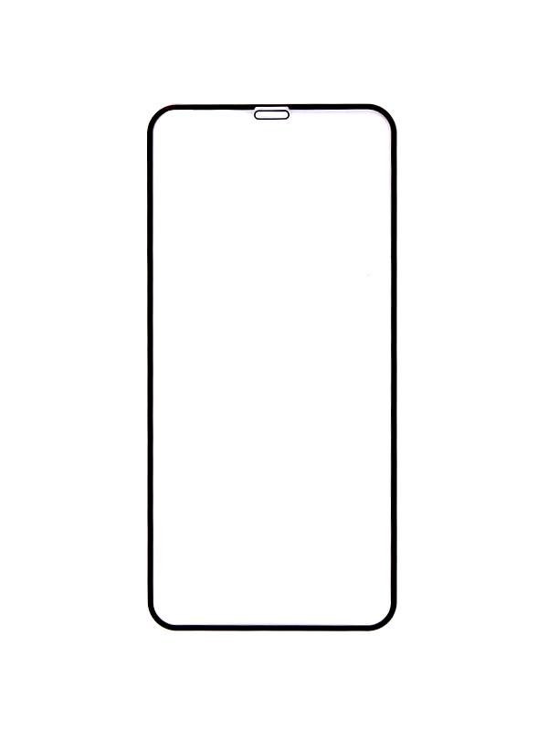 Аксессуар Закаленное стекло DF для APPLE iPhone XS Max Full Screen iColor-20 Black