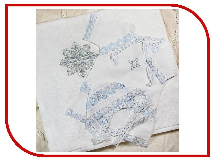 Krestilnoe Комплект Александр с полотенцем 0-3 мес. НКМп-Ал-62