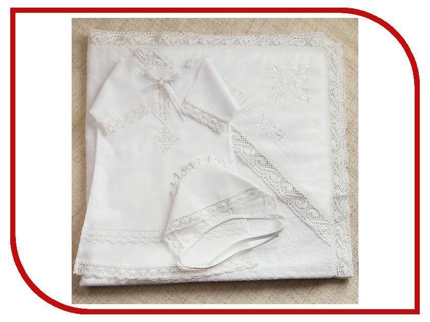 Krestilnoe Комплект Классика с полотенцем 0-3 мес. НКМп-Кл-62