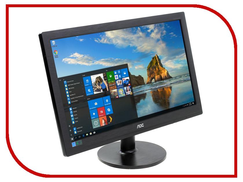 Монитор AOC M2060SWDA2 Black цена и фото