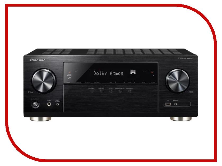 Ресивер Pioneer VSX-933-B Black new original a v home theater remote control axd7247 for pioneer vsx d309 vsx d409 vsx d510 vsx d209 vsx d511 vsxd3 vsx d609