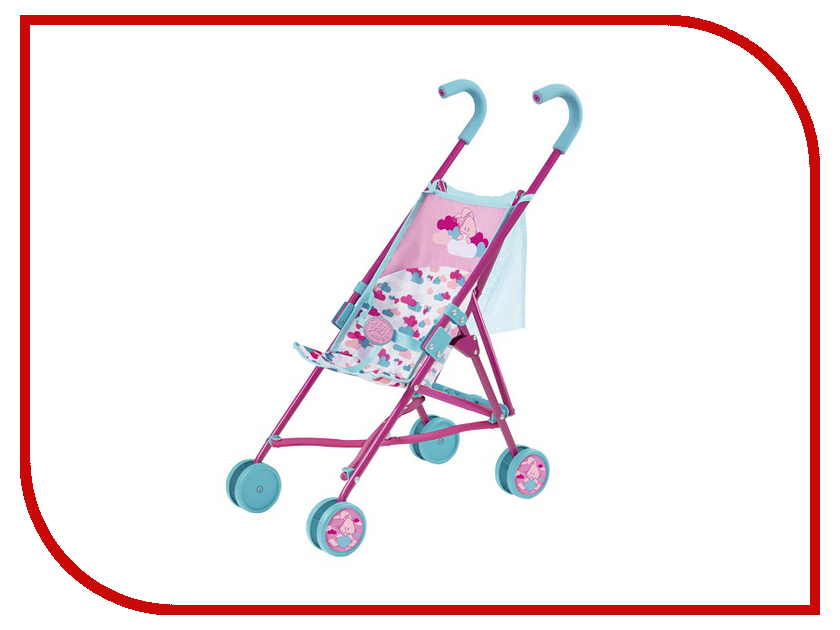 Коляска Zapf Creation Baby Born трость с сеткой (1423489) zapf creation baby annabell 1423478 бэби аннабель коляска трость с сеткой 2017