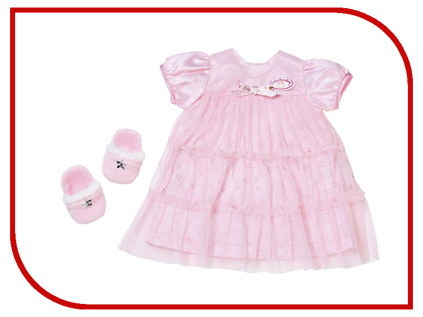 Одежда для куклы Zapf Creation Baby Annabell Спокойной ночи 700-112 zapf creation комбинезончик baby annabell